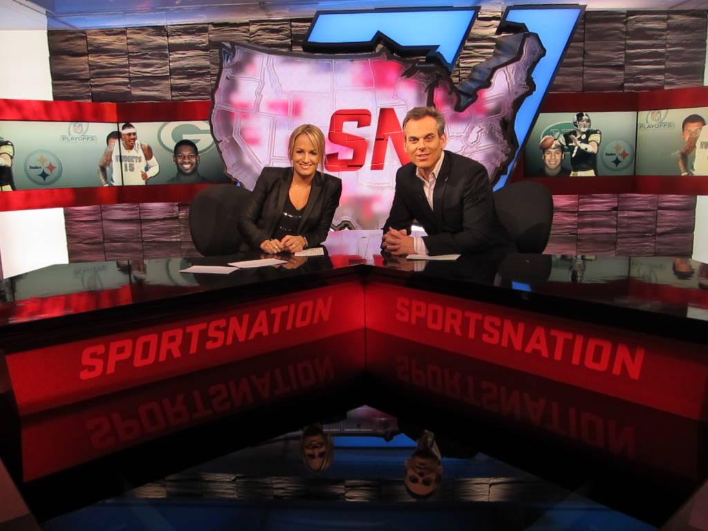 Jenn Co Hosts Sports Nation 1024x768