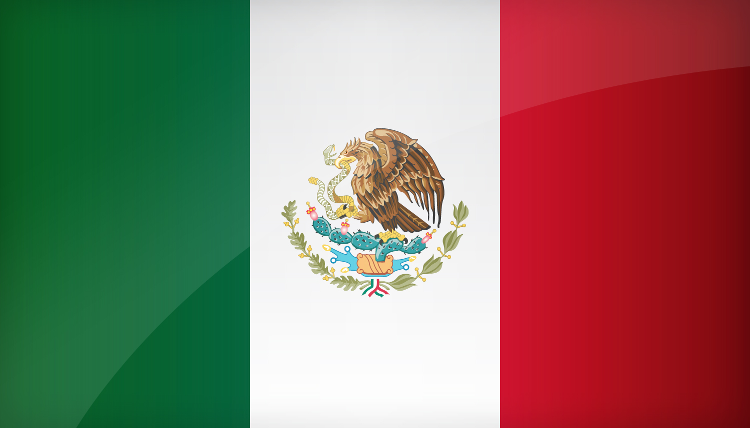 Awesome mexican flag wallpaper