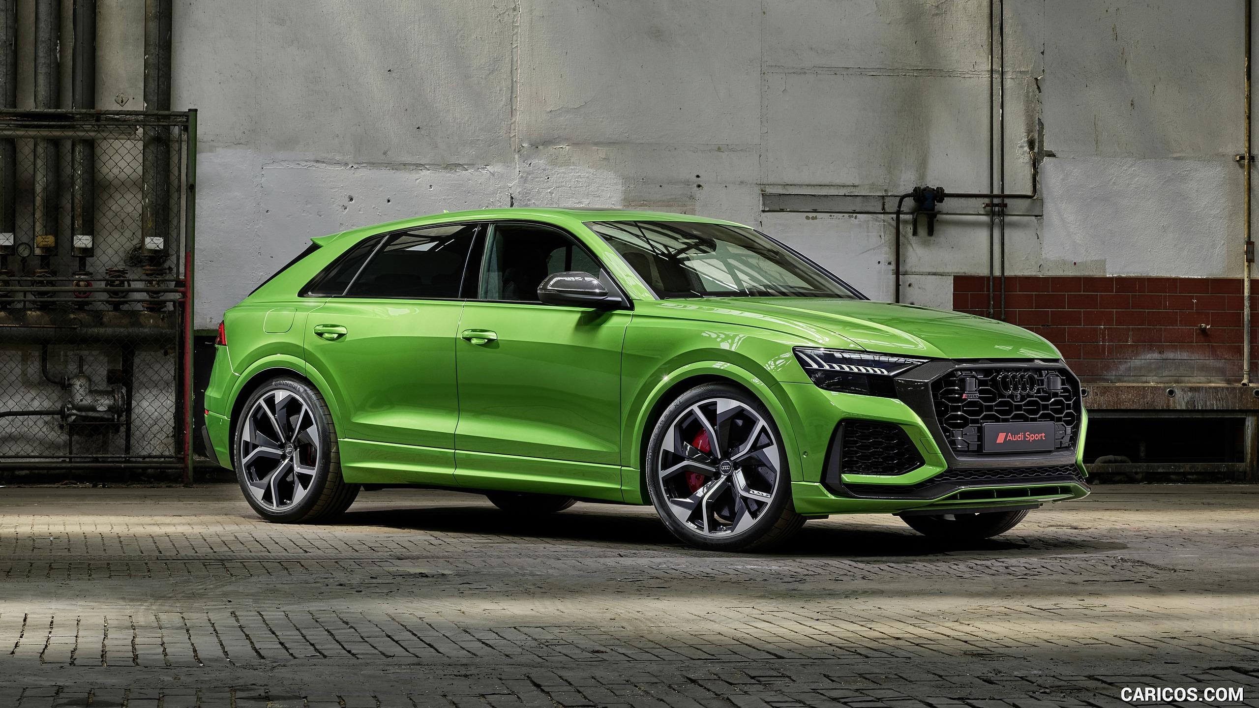 2020 Audi RS Q8   Front Three Quarter HD Wallpaper 5 2560x1440