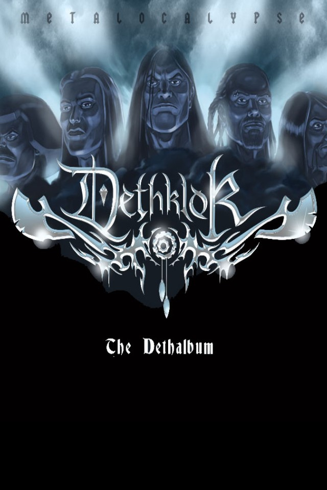Dethklok from category music and artists wallpapers for iPhone 640x960
