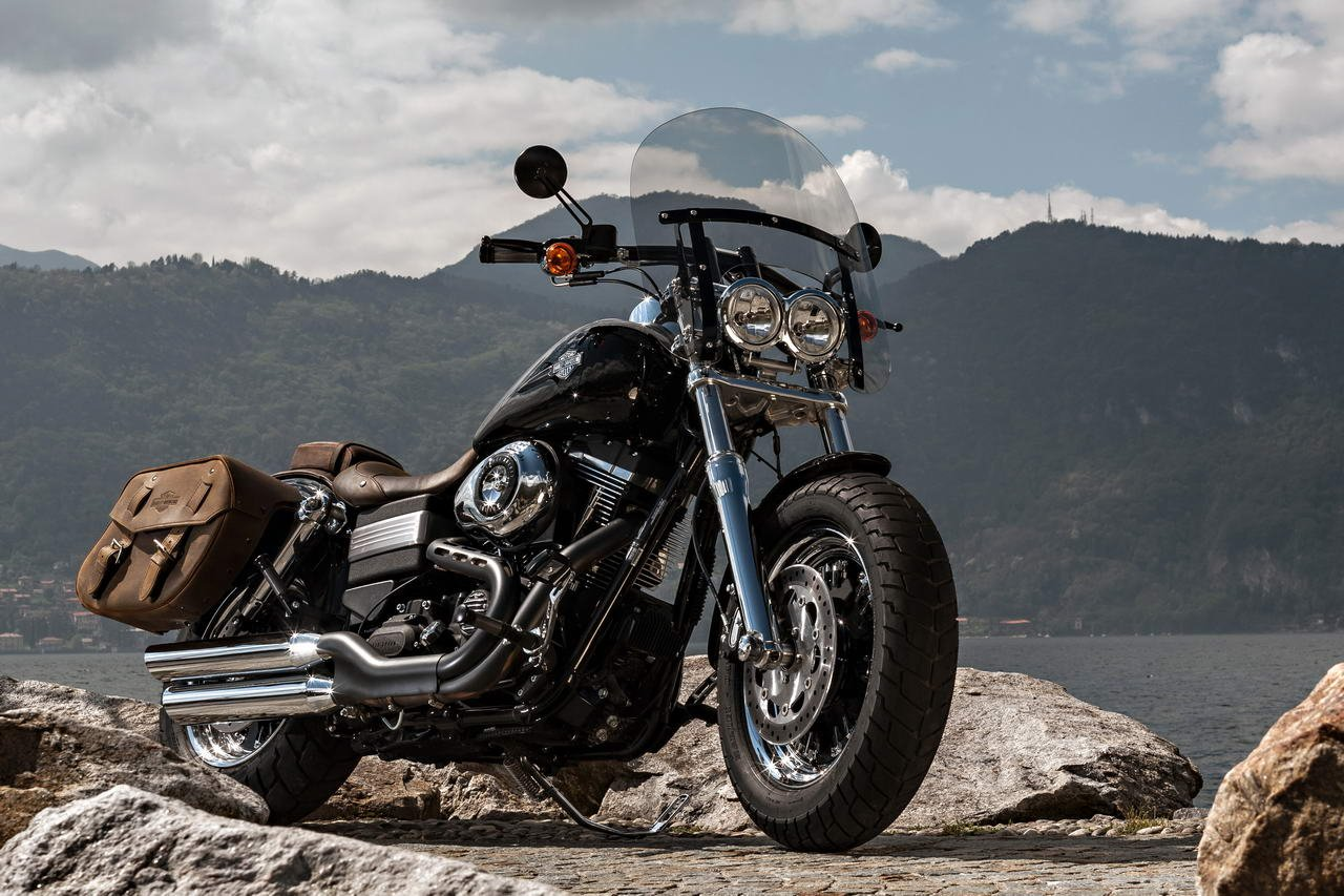 Download Harley Davidson Fxdf Dyna Fat Bob HD Wallpaper 1280x853