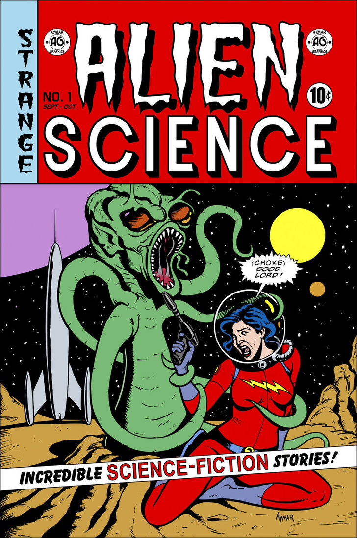 Alien Science EC Cover Style by cubist1234 728x1098
