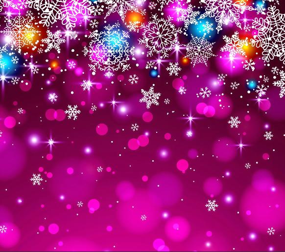Purple snowflake wallpaper wallpapersafari - Purple christmas desktop wallpaper ...