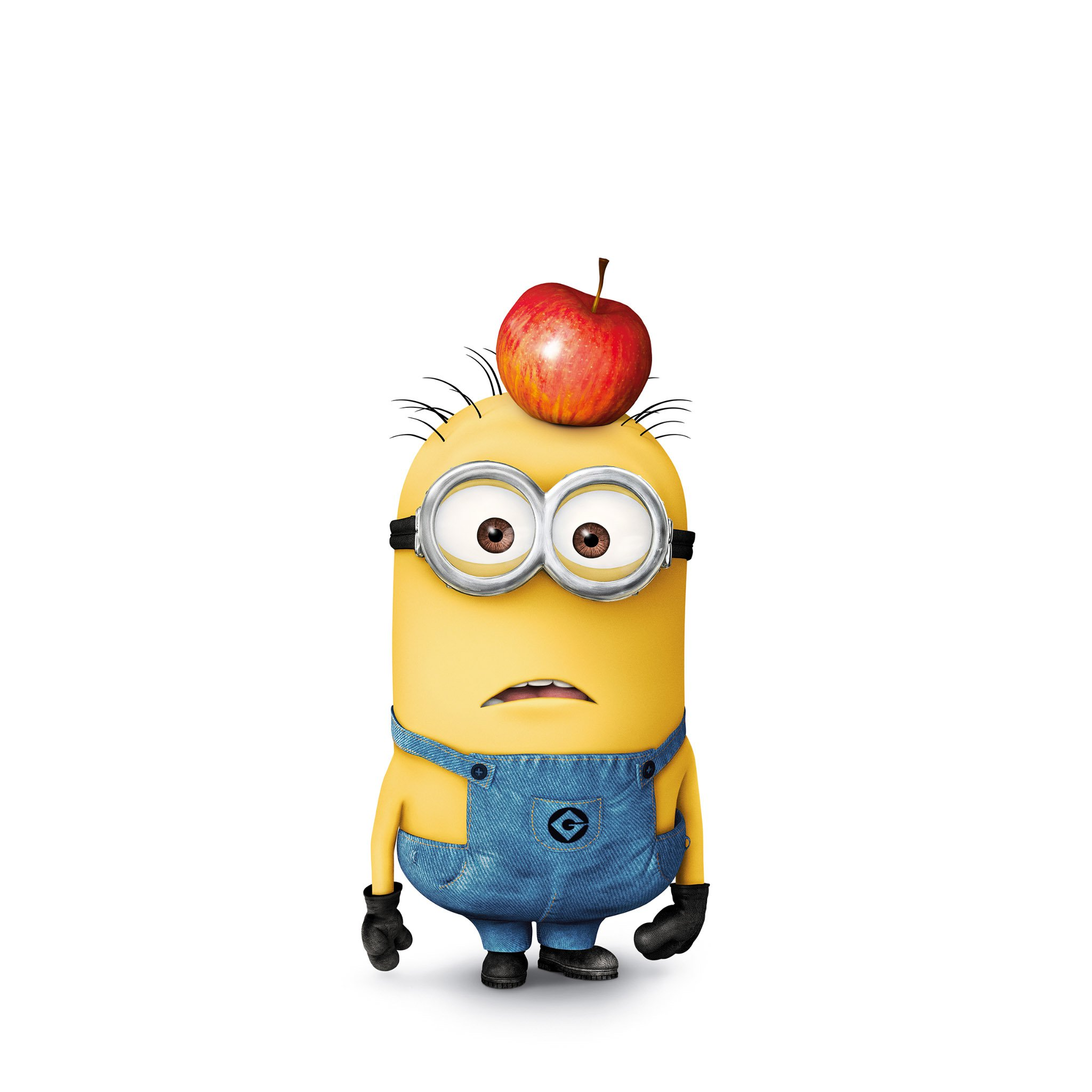 FREEIOS7 minion tom   parallax HD iPhone iPad wallpaper 2048x2048