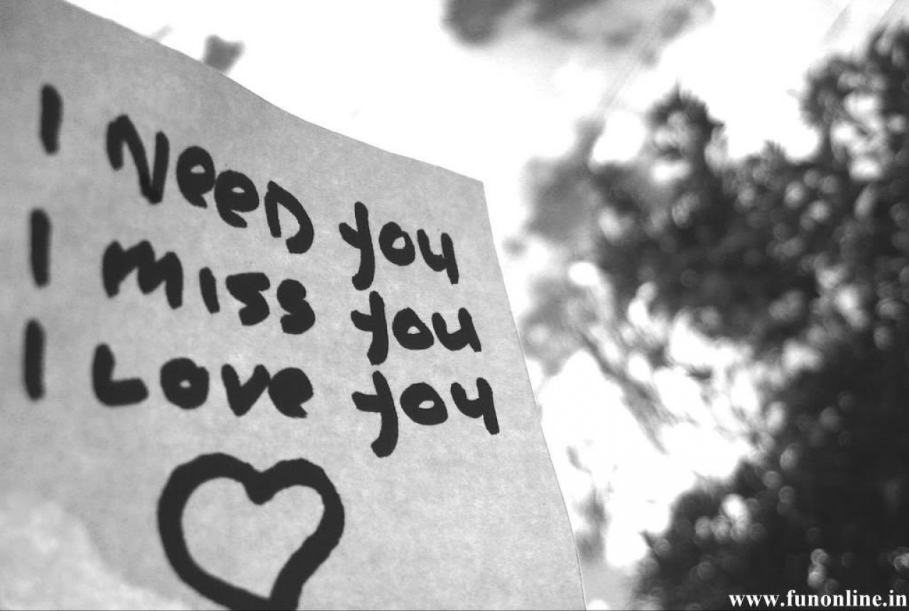 Miss You Love Wallpapers Sad and Truthful Miss You Love Wallpapers 1280x860