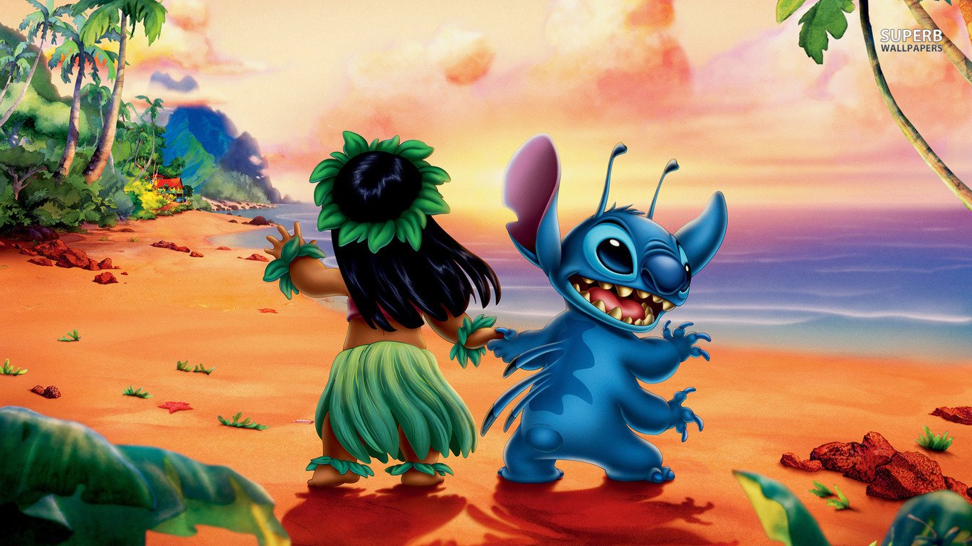 lilo and stitch Computer Wallpapers Desktop Backgrounds 1366x768 1366x768