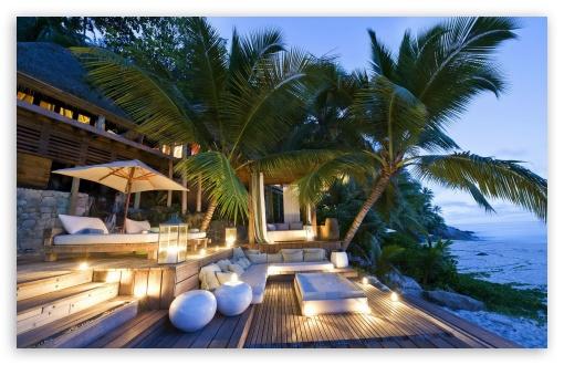 Tropical Beach Resort HD wallpaper for Standard 43 54 Fullscreen 510x330