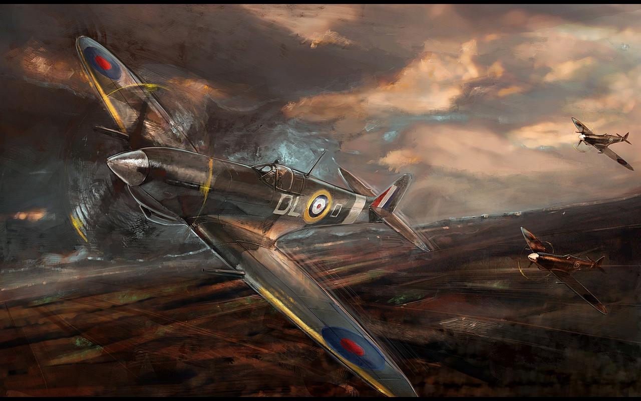 Military   Supermarine Spitfire Wallpaper 1280x800
