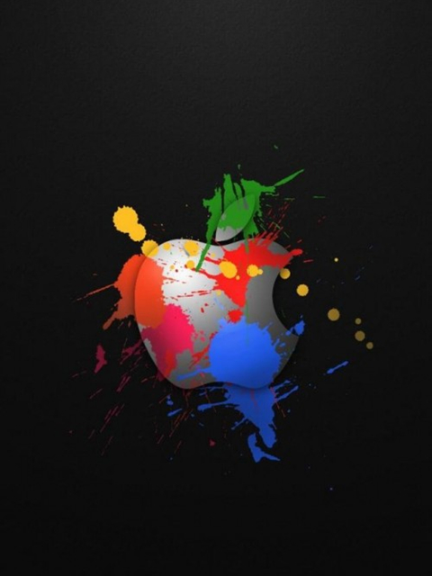 480x640 hd cool apple logo design iphone wallpapers backgrounds 480x640