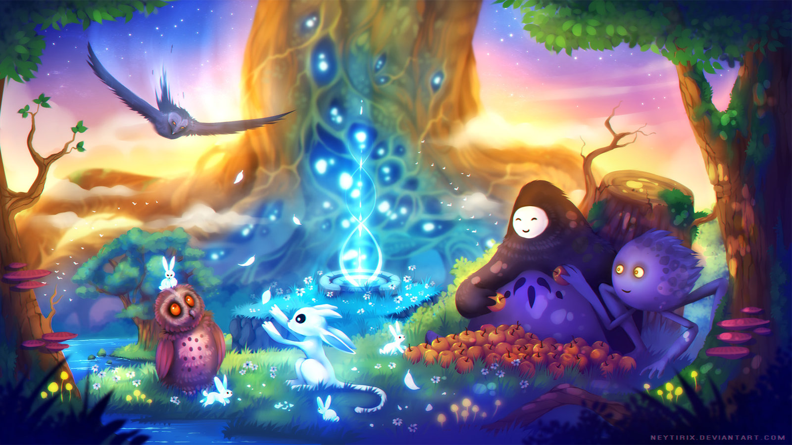 Ori and the Blind Forest by Neytirix on DeviantArt