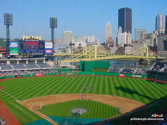 PNC Park   Wallpaper of the Pittsburgh Pirates baseball stadium 640x480