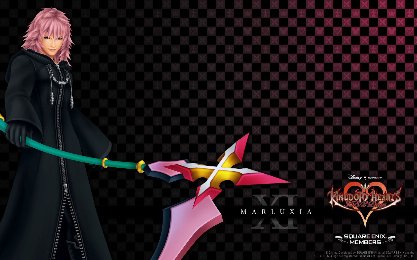 Marluxia Wallpaper   Zerochan Anime Image Board Kingdom Hearts 1680x1050