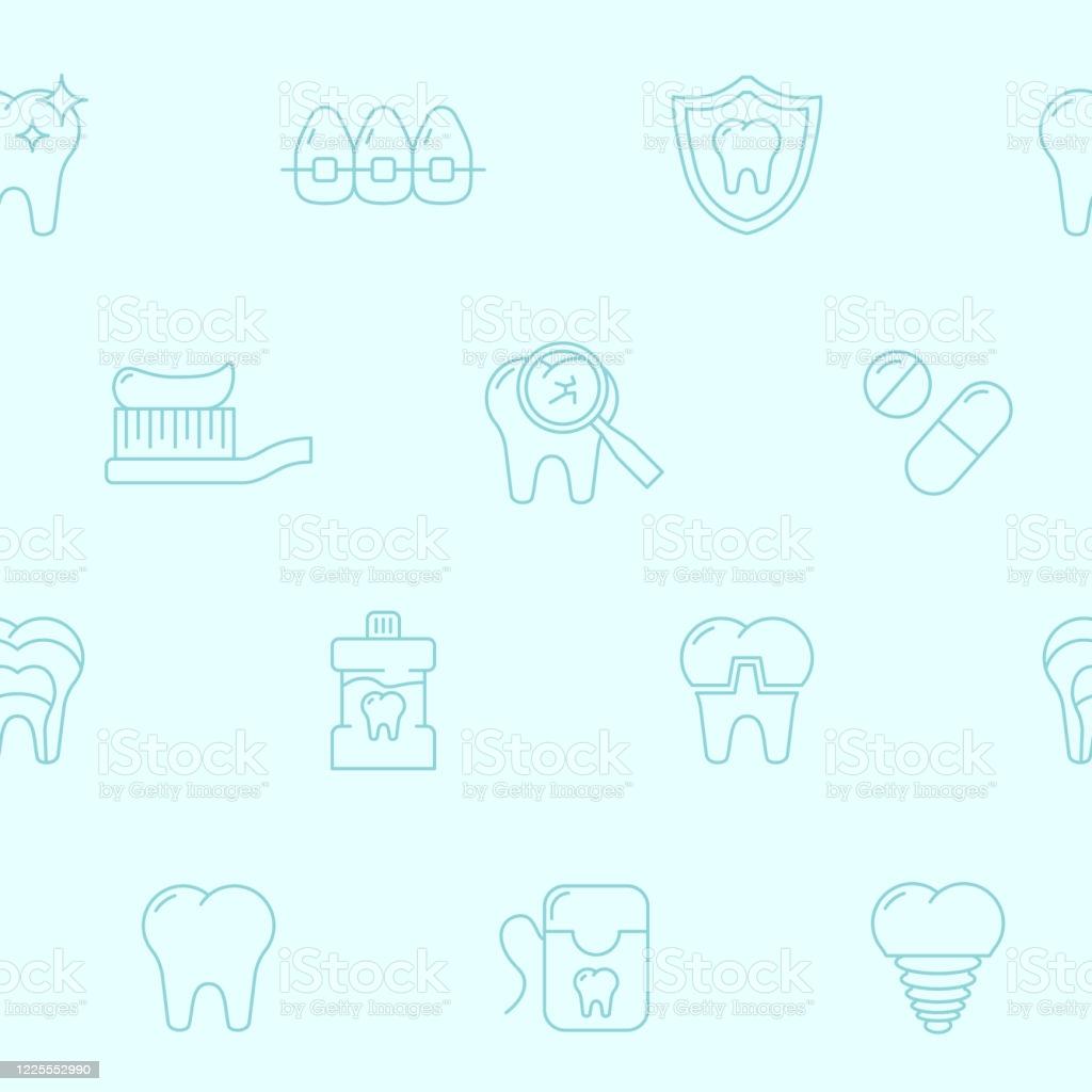 Dentist Background 0106 Stock Illustration   Download Image Now 1024x1024