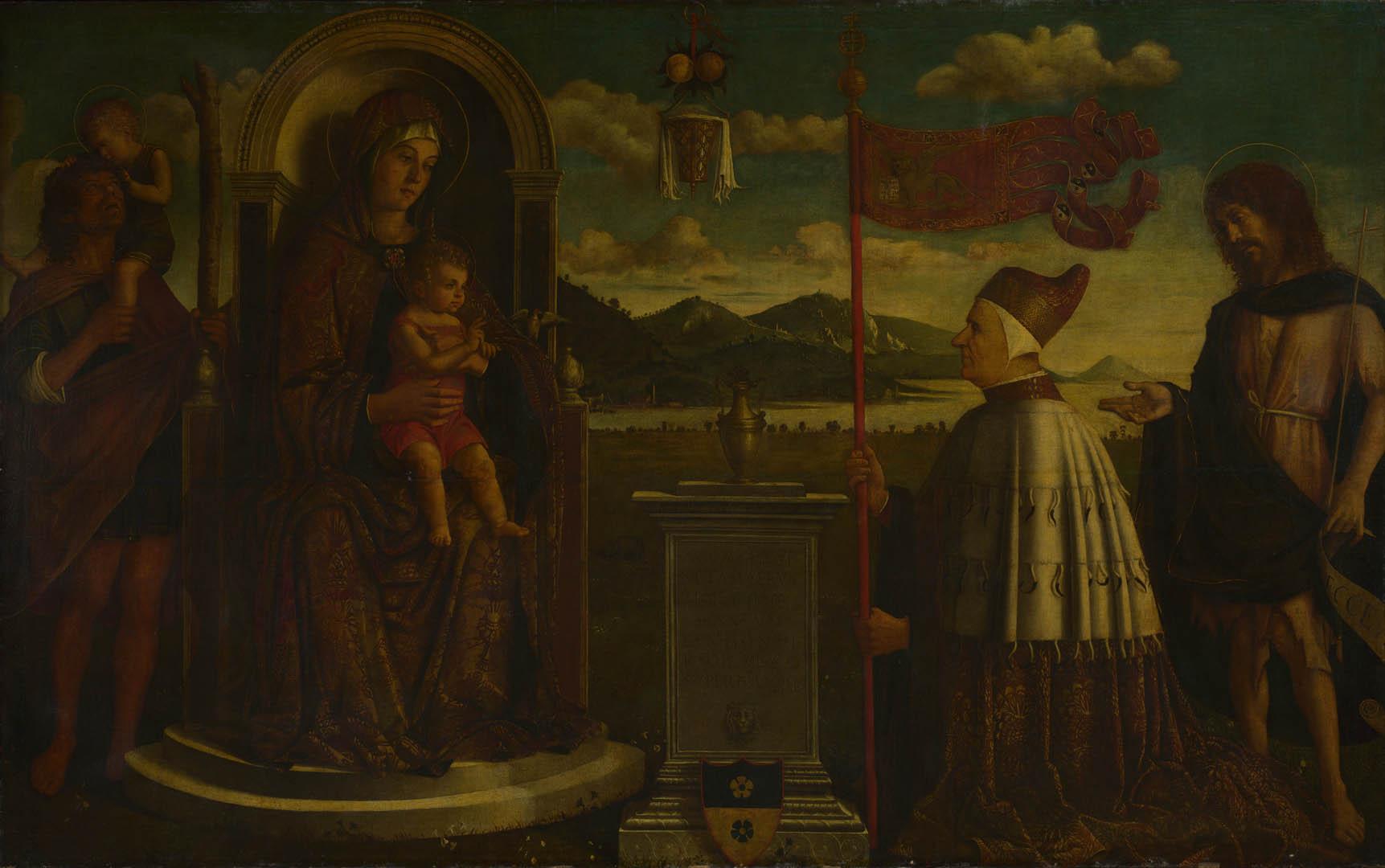 Child With Saints   Italian Renaissance Venetian Art Wallpaper Picture 1723x1080