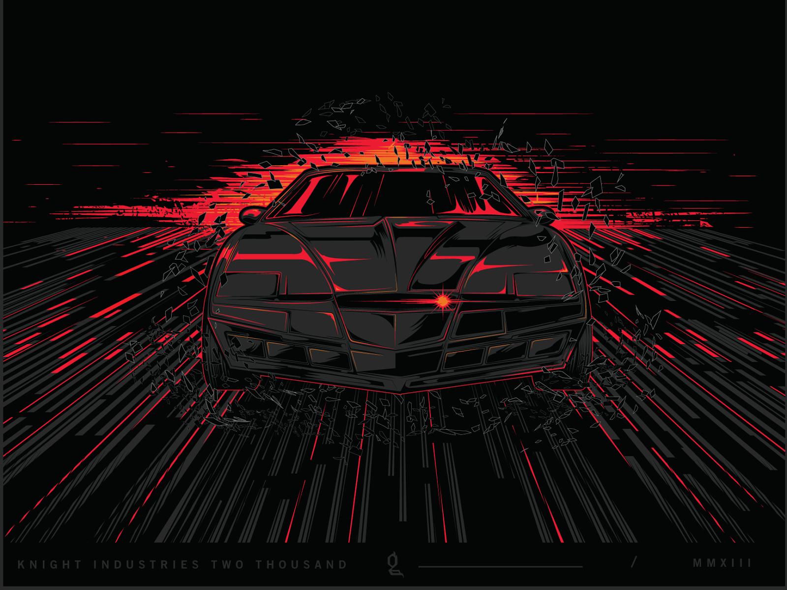 Knight Rider Animated Wallpaper kaneda Metal Variant by 1600x1200