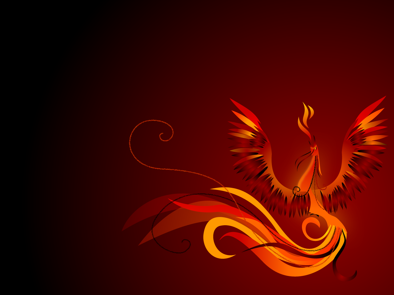 Phoenix Bird Wallpapers 1280x960