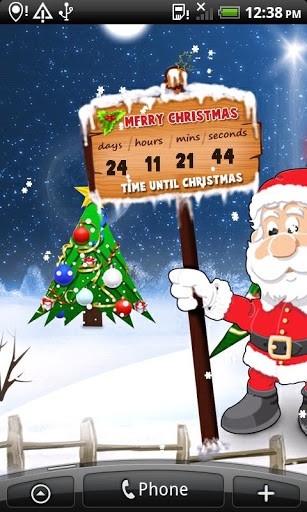 View bigger   christmas countdown wallpaper for Android screenshot 307x512