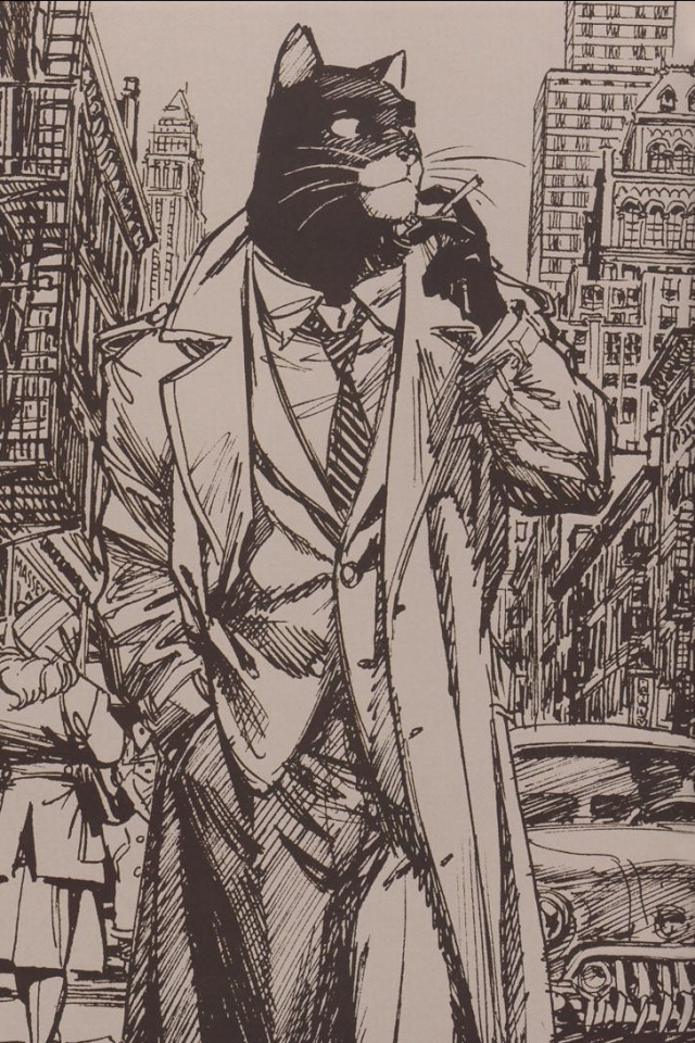 ComicsBlacksad 640x960 Wallpaper ID 136706   Mobile Abyss 640x960