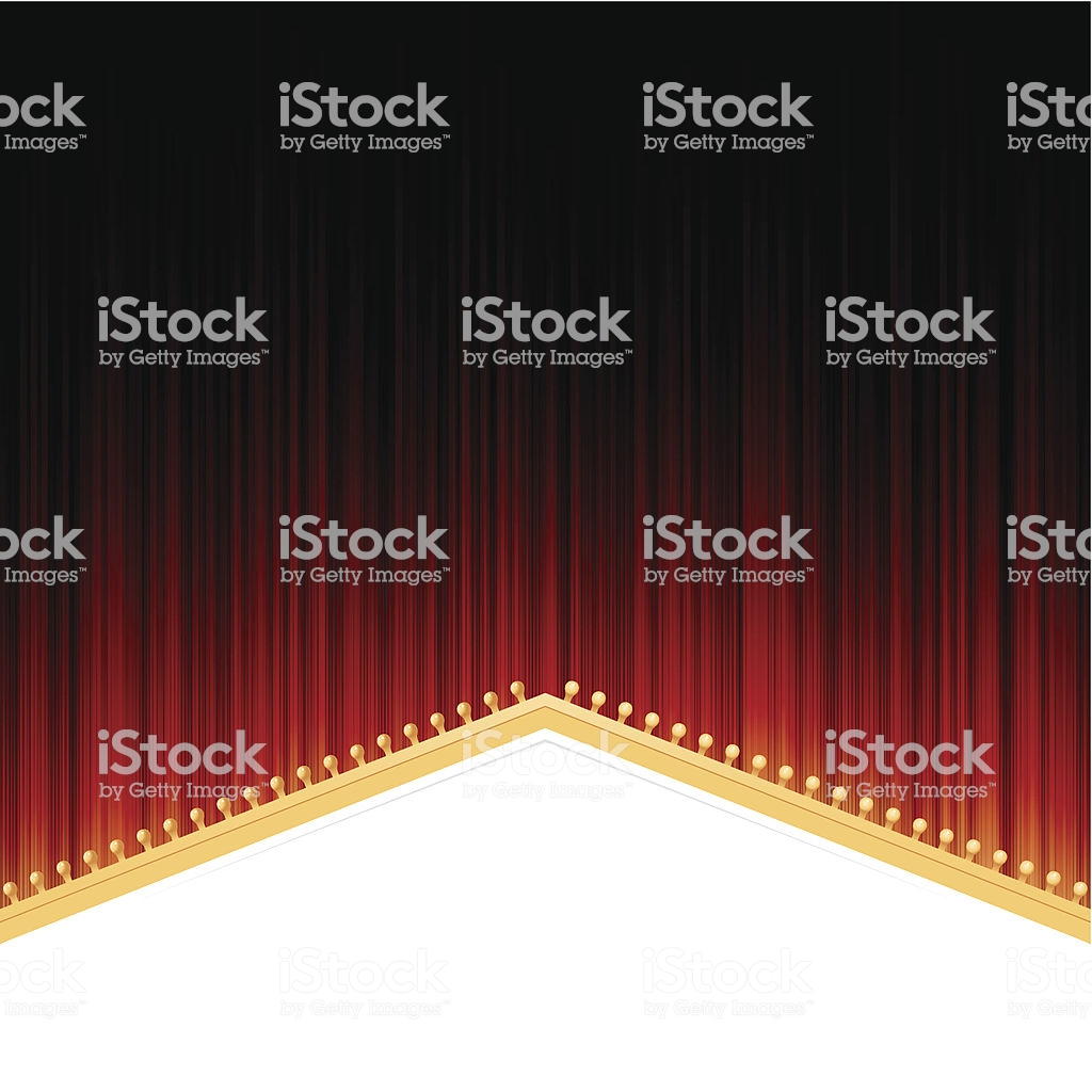 Showtime Background Stock Vector Art More Images of Auditorium 1024x1024