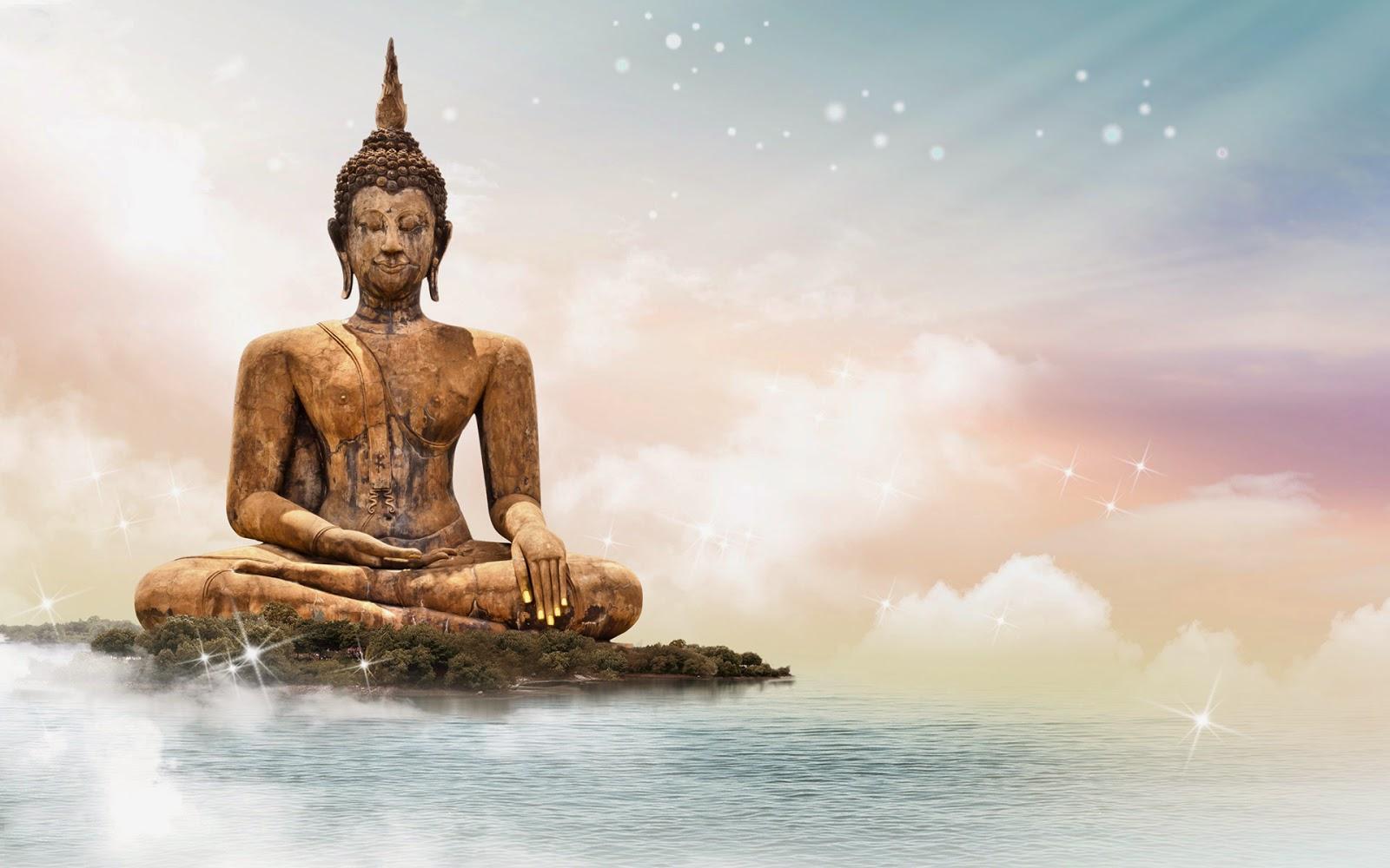 Buddha statue wallpaper wallpapersafari - Meditation art wallpaper ...