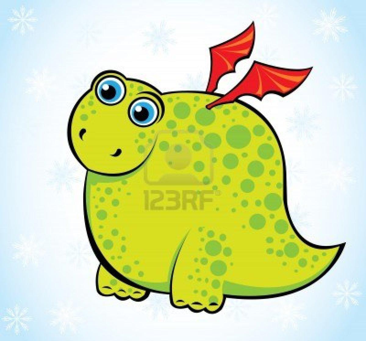 Cartoon Green Funny Dragon On Blue Background 1200x1119 pixel 1200x1119