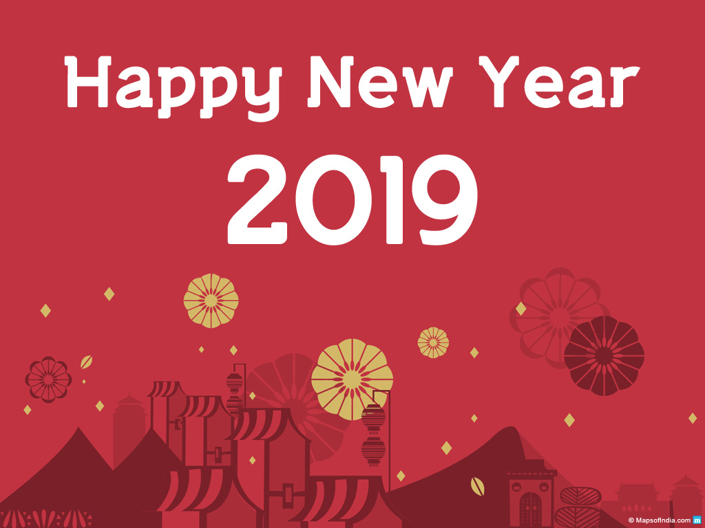 New Year Wallpapers and Images 2018 Download Happy 1024x768