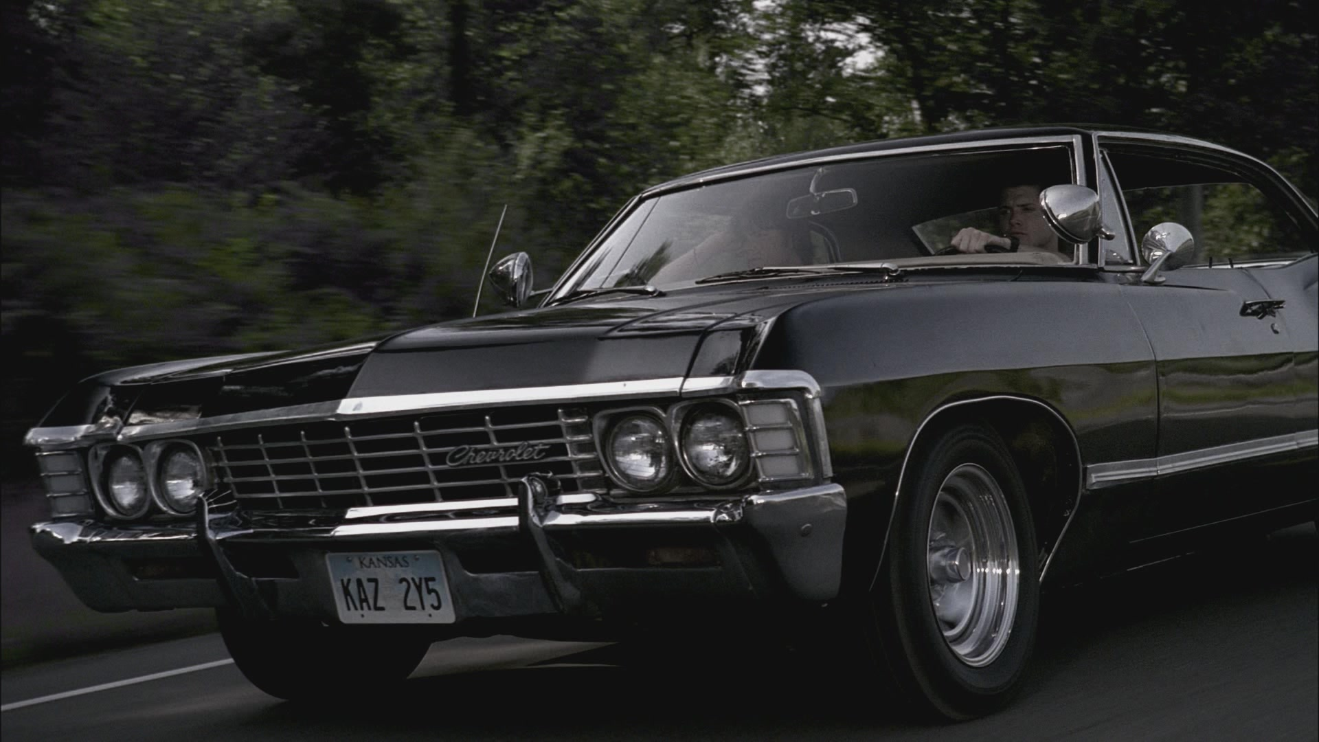 supernatural car impala wallpaper - photo #11