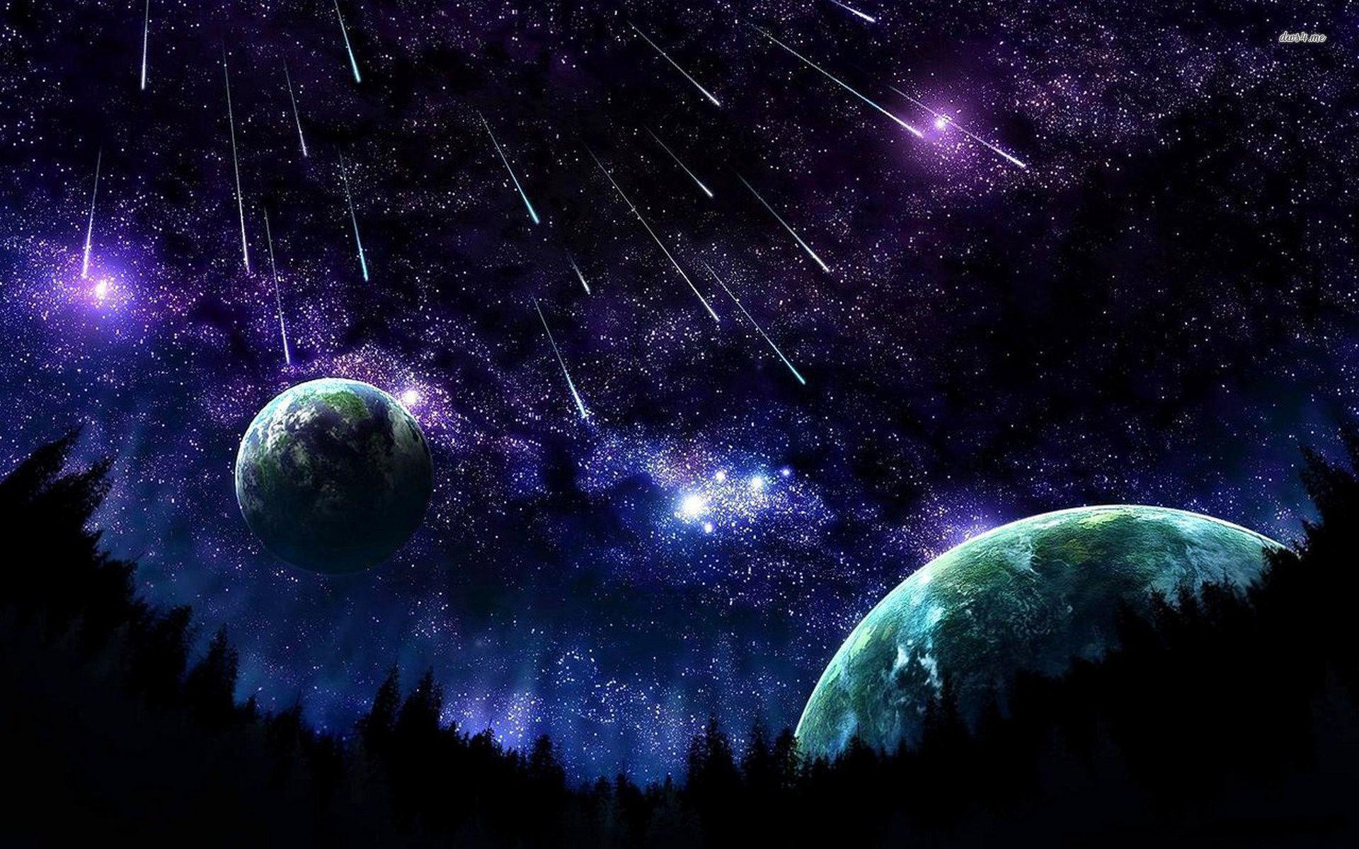 Night Sky Stars Wallpapers 1920x1200