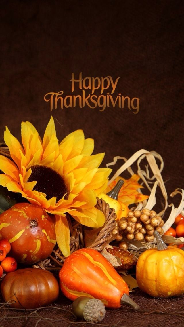 Phone Wallpaper Happy Thanksgiving