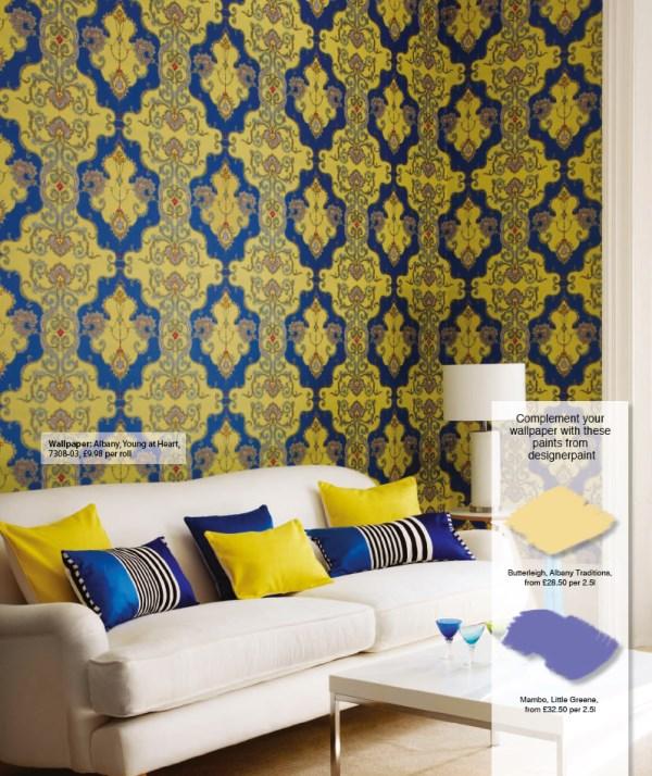 Moroccan Wallpaper 600x714