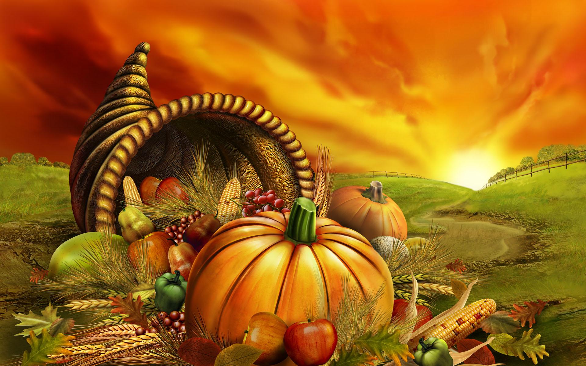 Download Happy Thanksgiving HD Wallpaper 1920x1200