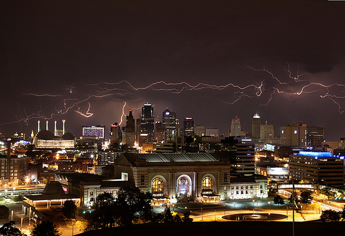Lightning Kansas City MO Flickr   Photo Sharing 500x342