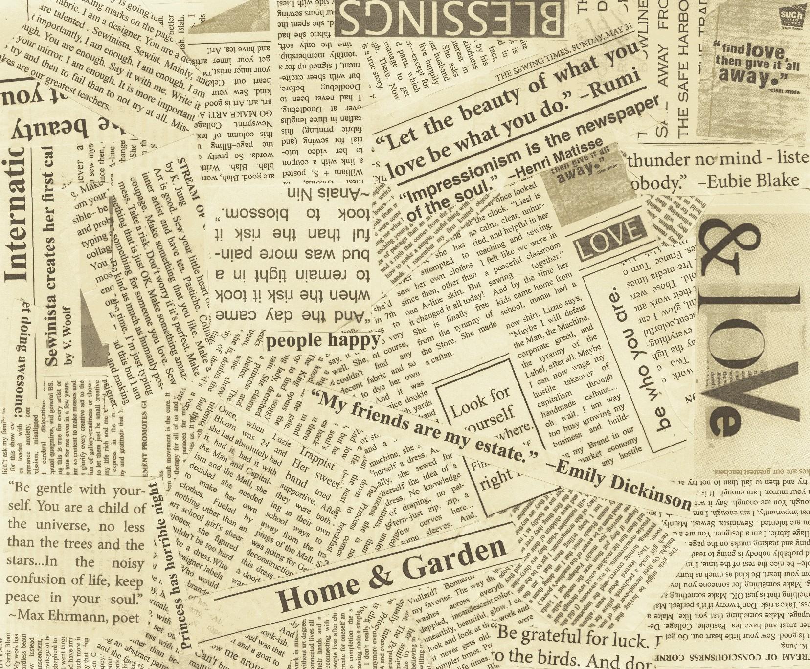 1656x1368px Black And White Newspaper Wallpaper Wallpapersafari