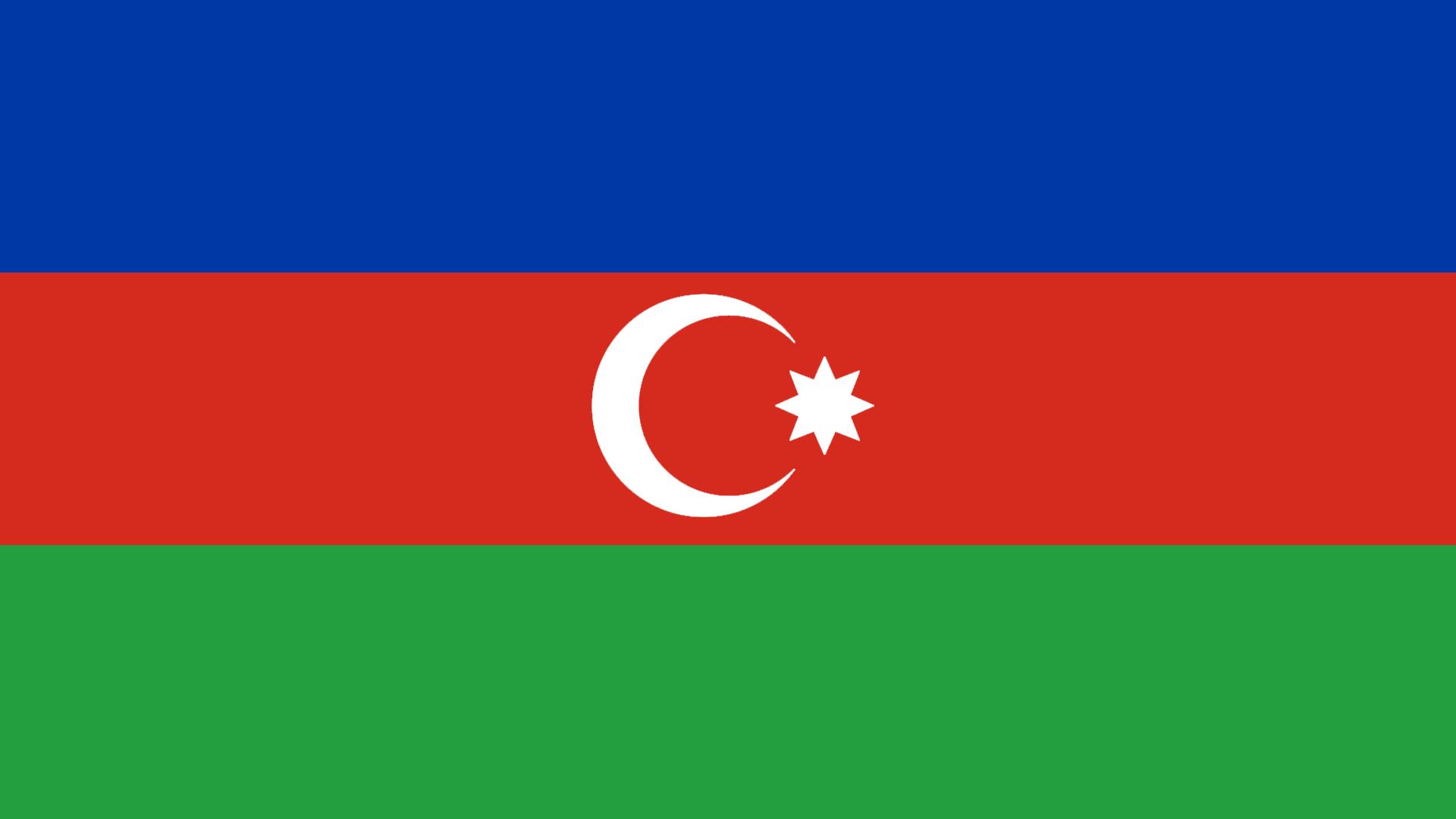 Azerbaijan Flag   Wallpaper High Definition High Quality Widescreen 1920x1080