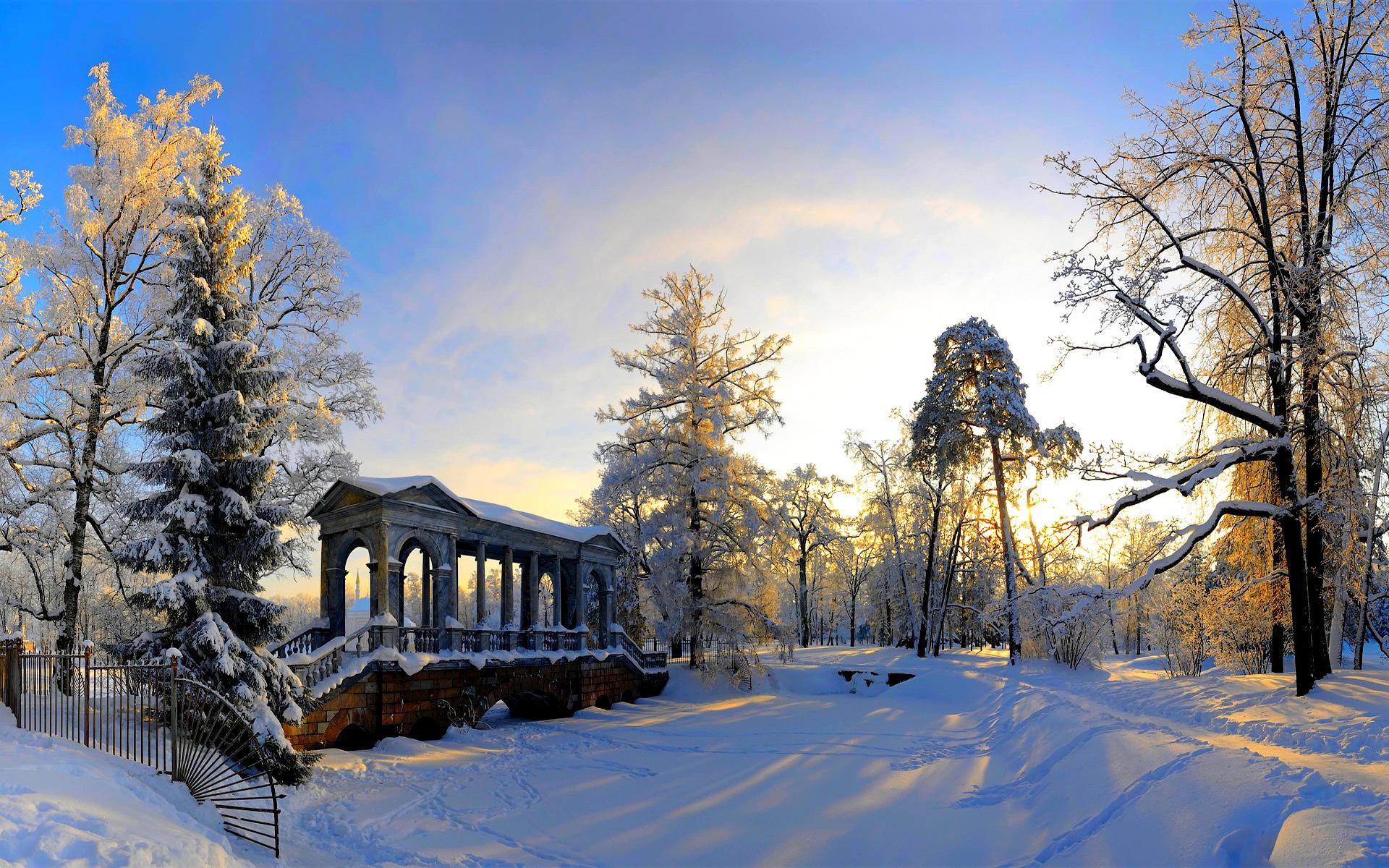 Winter Landscape Wallpaper Full HD 1920x1200