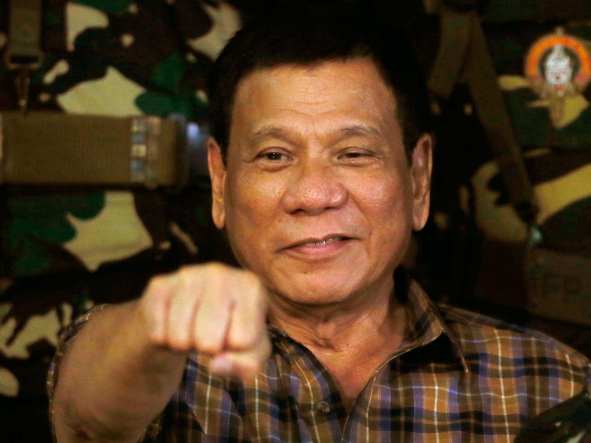 Philippines president Rodrigo Duterte is a psychopath says 2048x1536