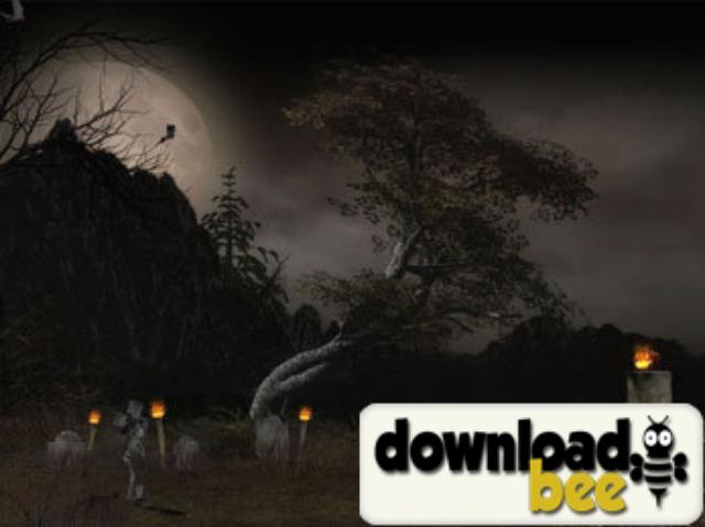 Halloween Tree Animated Wallpaper software Halloween Tree Animated 640x479