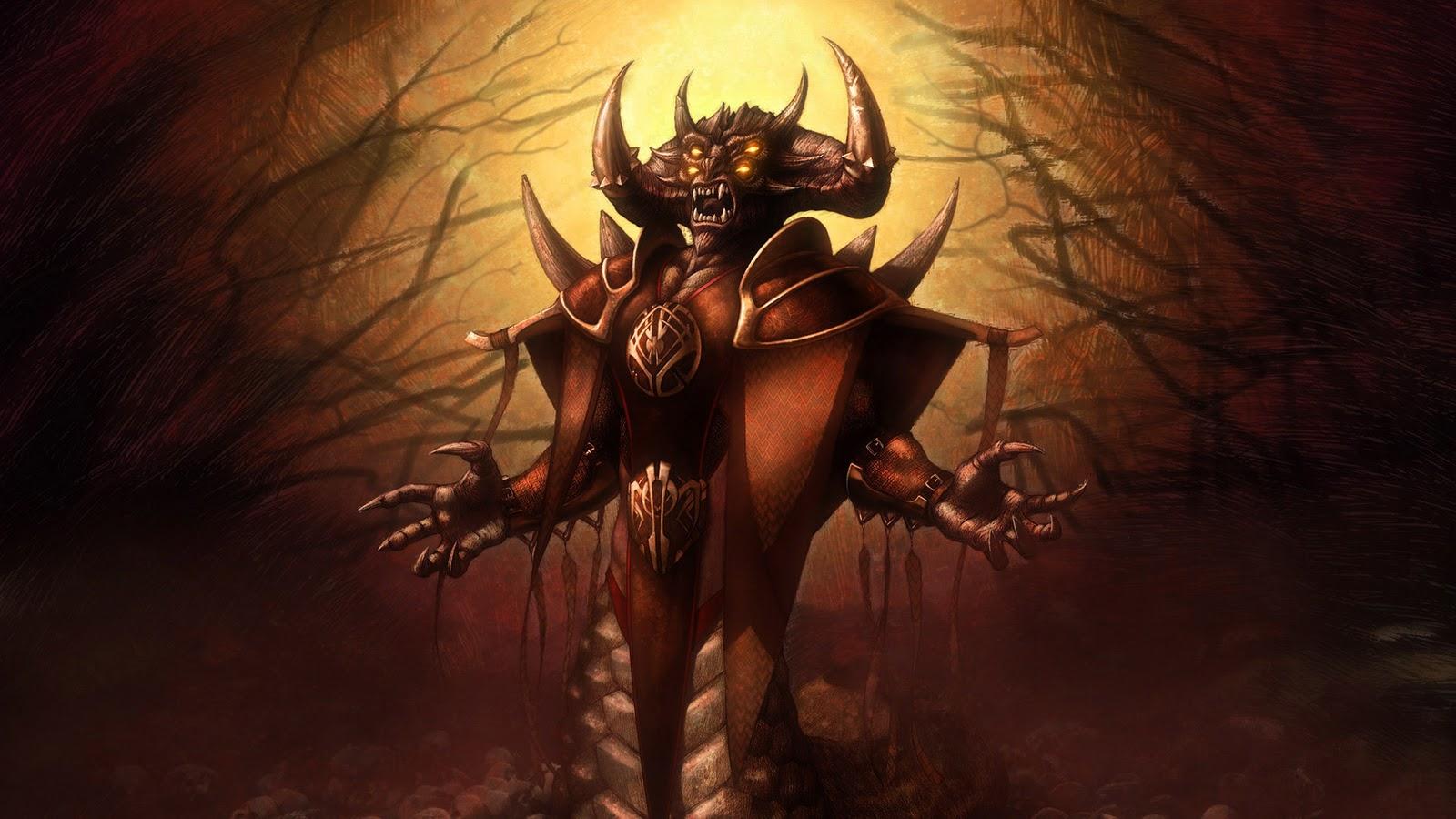 Halloween Monsters Wallpapers Demon King Wallpapers 1600x900