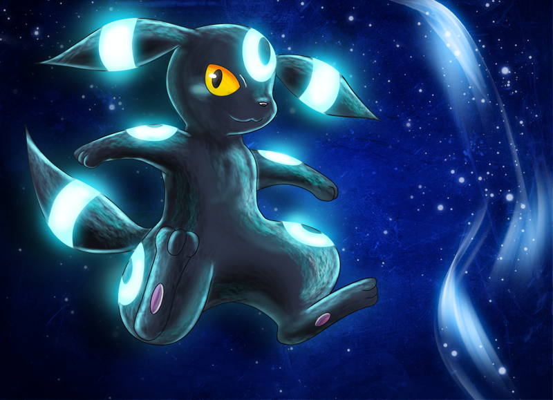 Shiny Umbreon Wallpaper Shiny umbreon by deruuyo 800x579