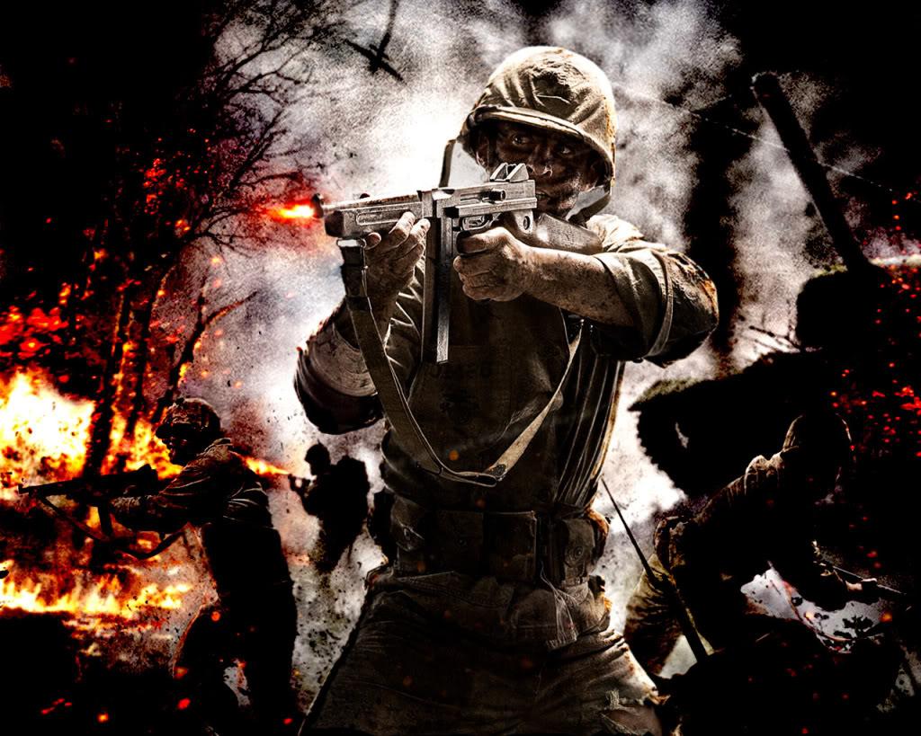 Call Of Duty World At War Wallpaper: COD WAW Wallpaper