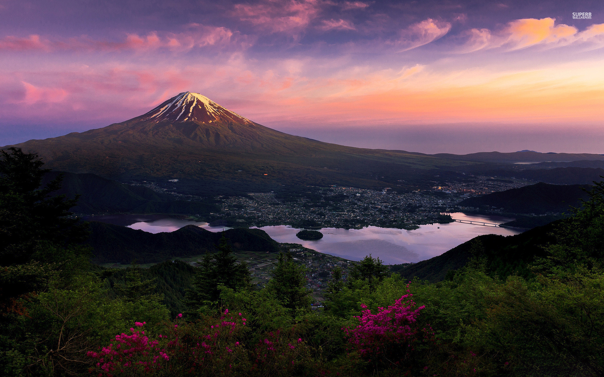 Mount Fuji Japan Asia wallpapers Mount Fuji Japan Asia 1920x1200