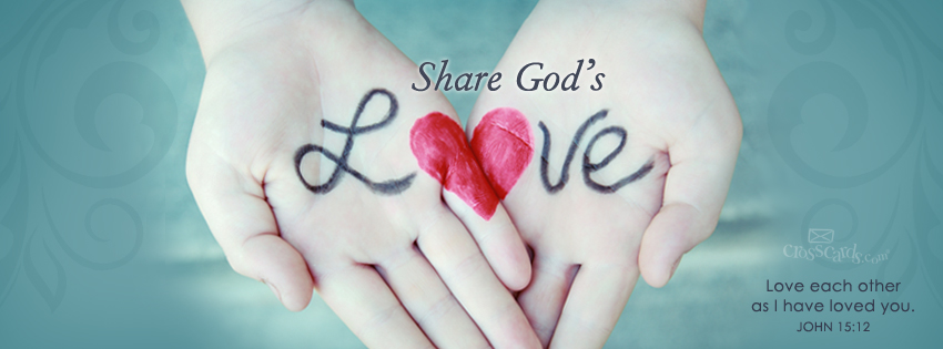 God Is Love Wallpaper Share gods love 850x315