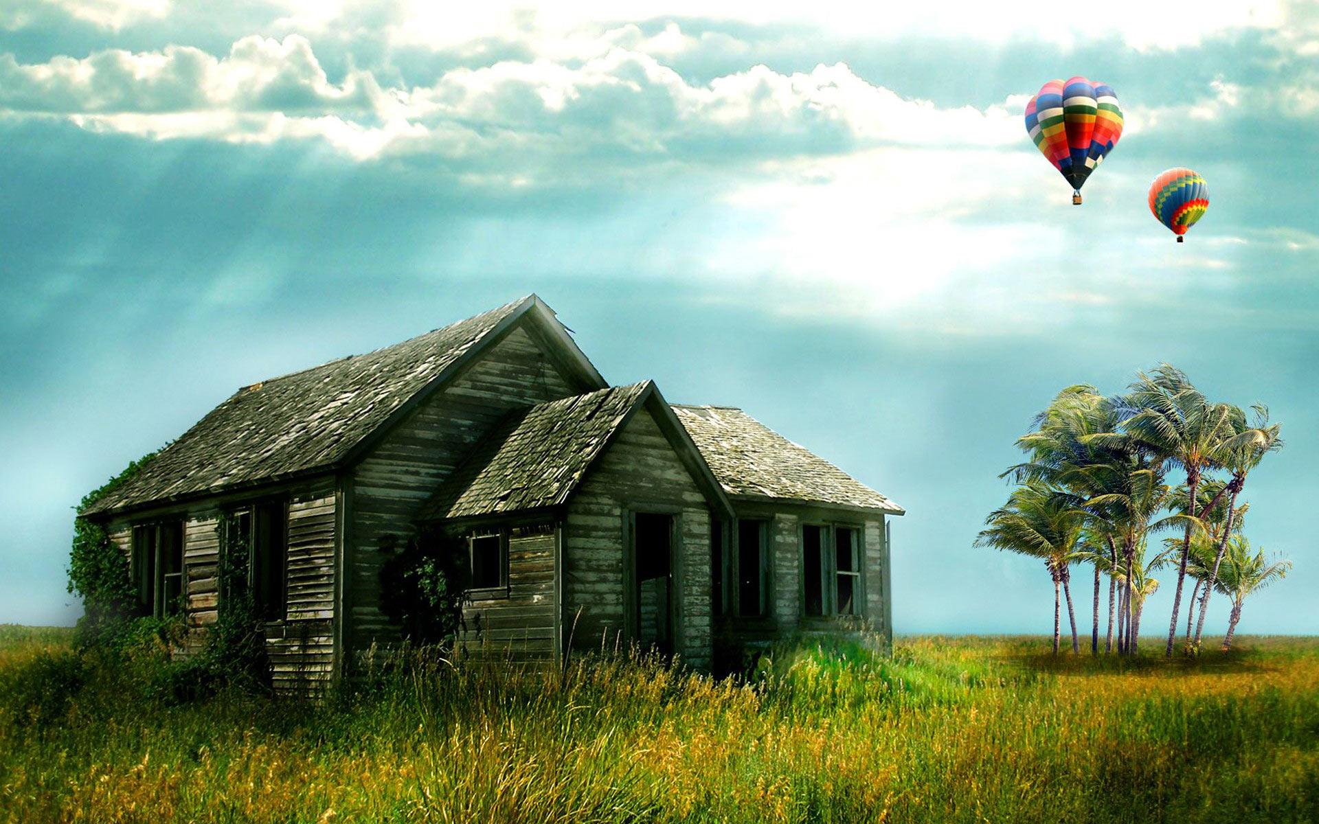 Hot air balloon Windows 7 desktop backgrounds Desktop Wallpaper 1920x1200