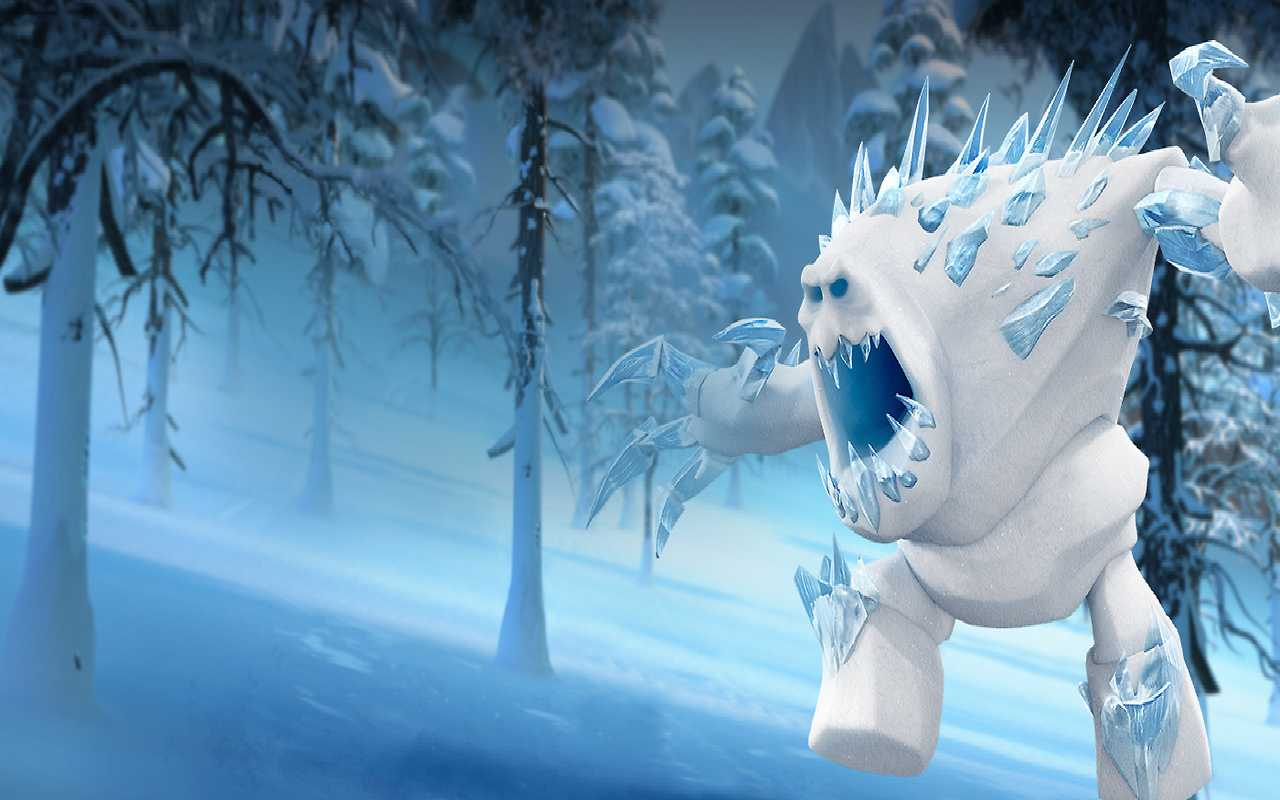 Frozen Monster Wallpaper HD Background 1280x800