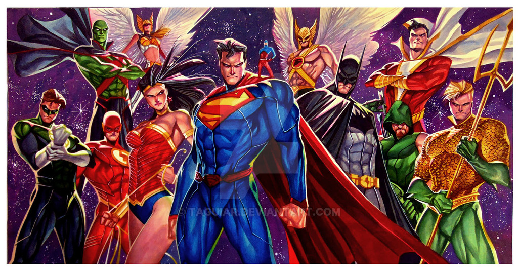 Free Download Justice League New 52 Favourites By Gilgamesh