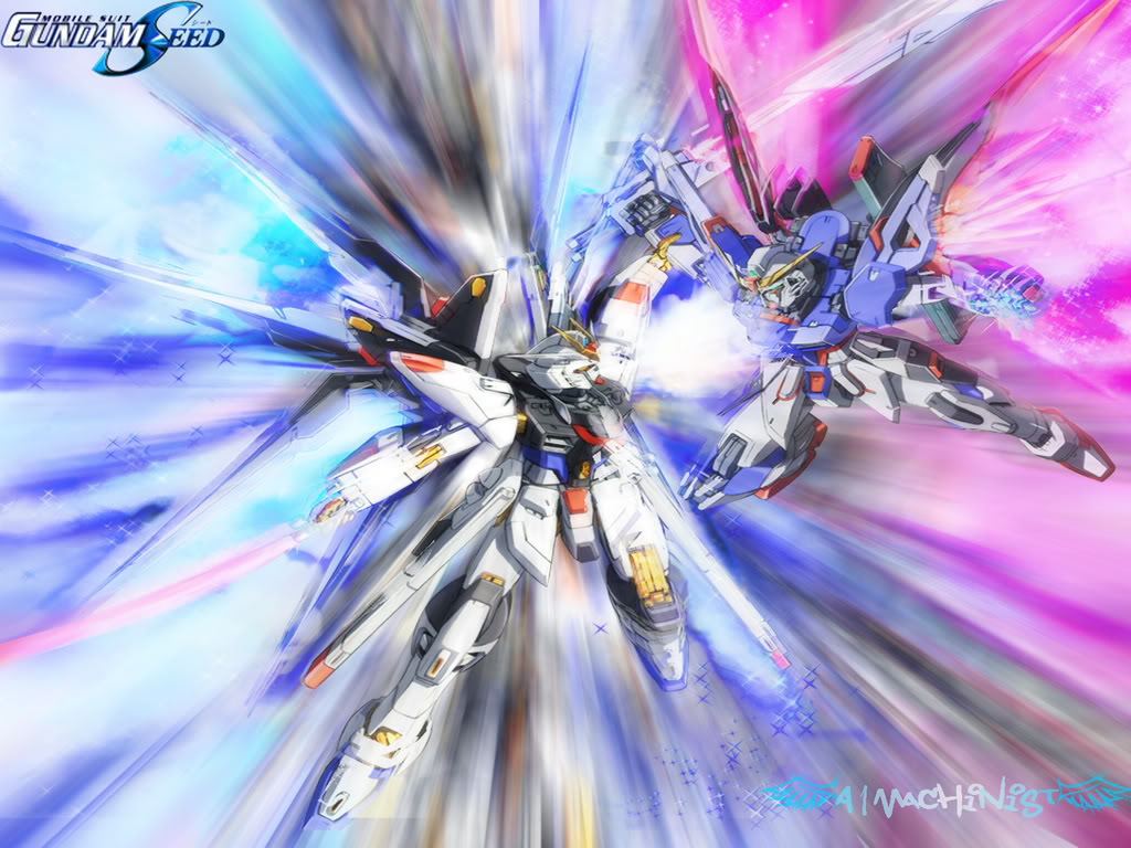 Free Download Gundam Seed Destiny Wallpaper Photo By A1machinist