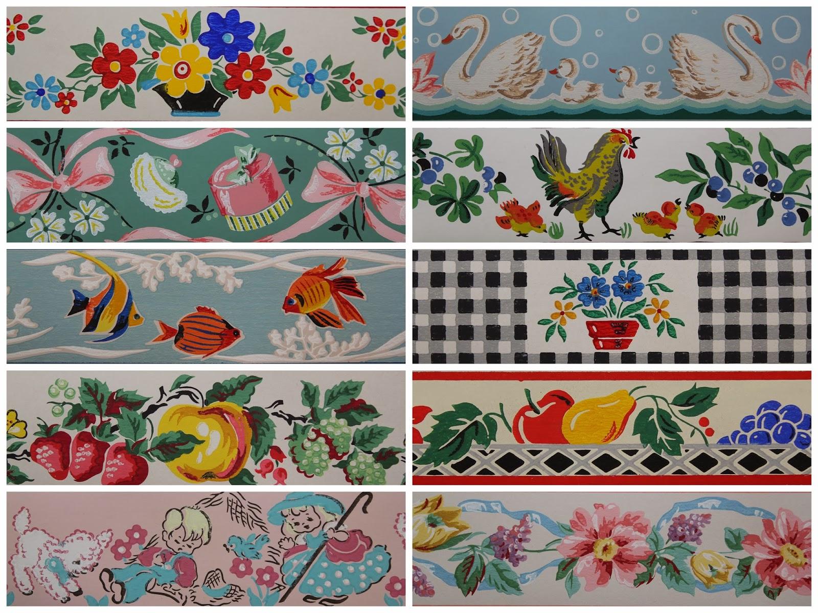 Wallpaper Rosies Vintage Wallpaper is Your Best Online Source 1600x1200