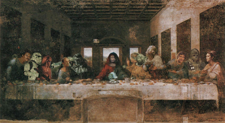 48 Star Wars Last Supper Wallpaper On Wallpapersafari
