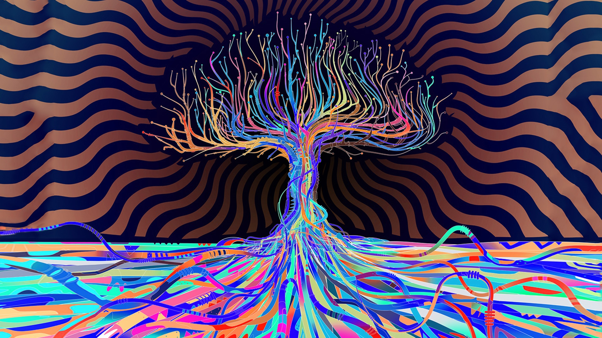 Psychedelic HD Wallpapers 1920x1080
