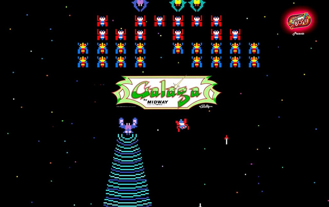 Galaga HD Wallpapers and Background Images   stmednet 1280x804